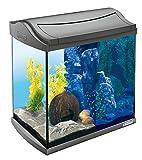 Tetra AquaArt Discovery Line LED Aquarium-Komplett-Set 30 Liter anthrazit (inklusive...