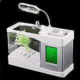 Anself LCD Fish Tank Aquarium Komplettset