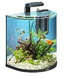 Tetra AquaArt Explorer Line Aquarium Komplett-Set 60 Liter anthrazit (gewölbte...