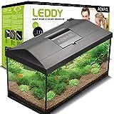 Aquael 5905546192163 Aquarium Set Leddy Led 40, 25 Liter Komplett Aquarium Mit...