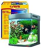 Sera 31152 Biotop LED Cube 130 XXL EIN 130 l Süßwasser-Komplettaquarium mit LED...